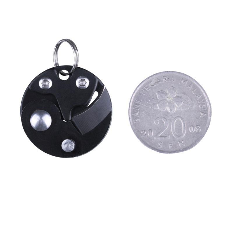 Coin-Knife-Keychain-Folding-Pocket-Camping-Hiking-EDC-Blade-Survival-Mini-Tools thumbnail 12