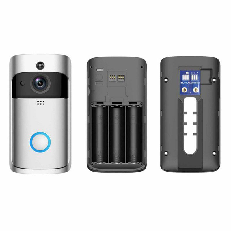Wireless WiFi Video Doorbell Smartphone Door Ring Intercom ...